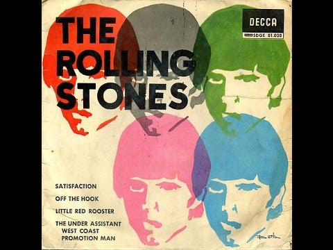 The Rolling Stones - More than 120 record covers (regular albums, bootlegs, rarities)