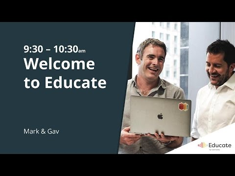 Educate 2017: An Intro to Educate (Keynote)