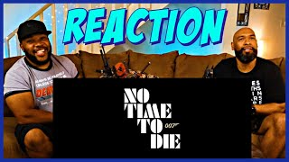 No Time To Die Official Trailer 2 Reaction