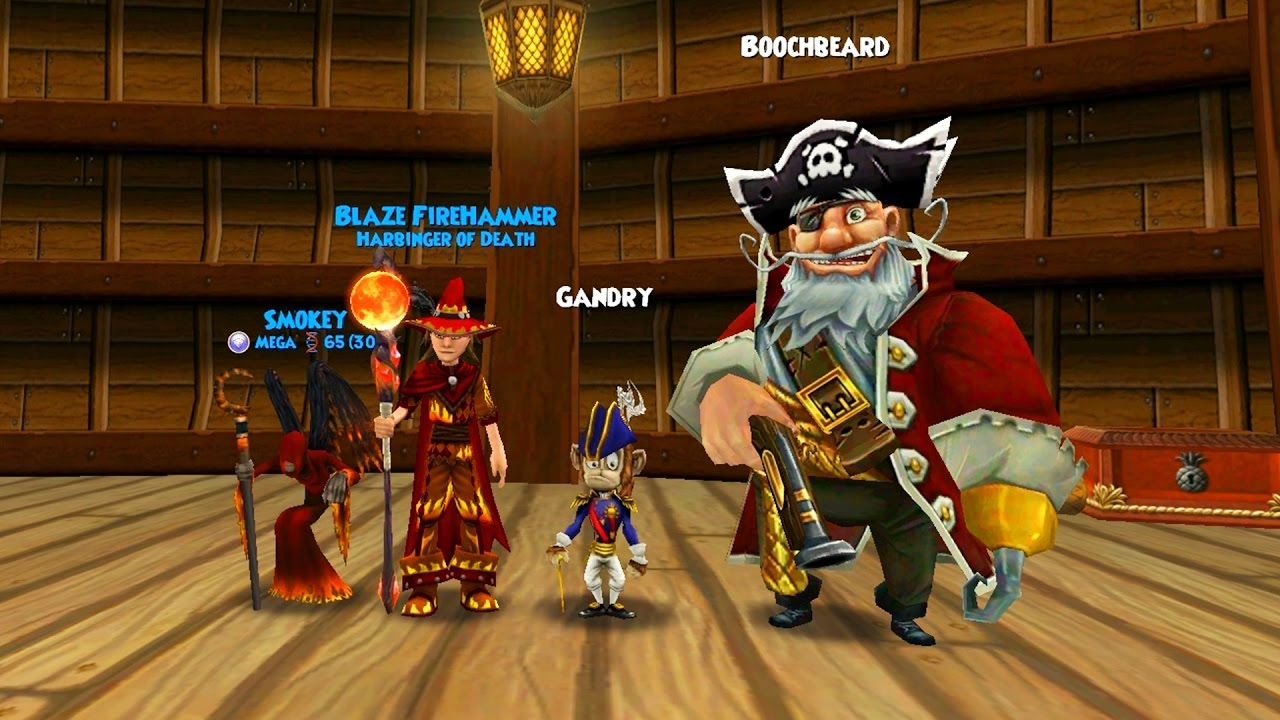 Wizard101: THE PIRATE101 CROSSOVER!