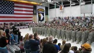 101st Airborne Afghanistan Redeployment