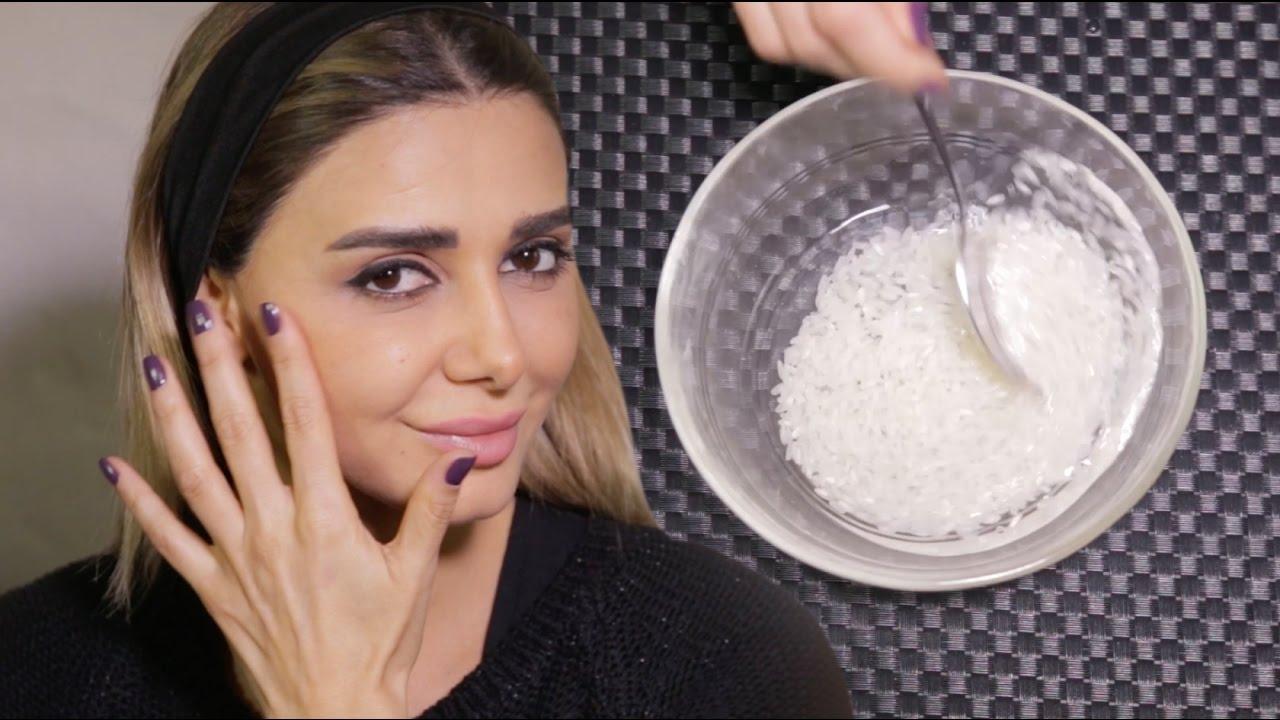 f07555b882442 هكذا تستخدمين ماء الأرز لبشرة نقية في دقائق - YouTube