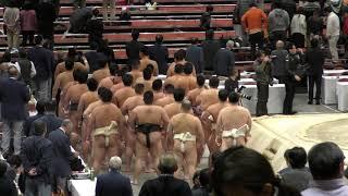 第68回全日本相撲選手権大会① 開会式