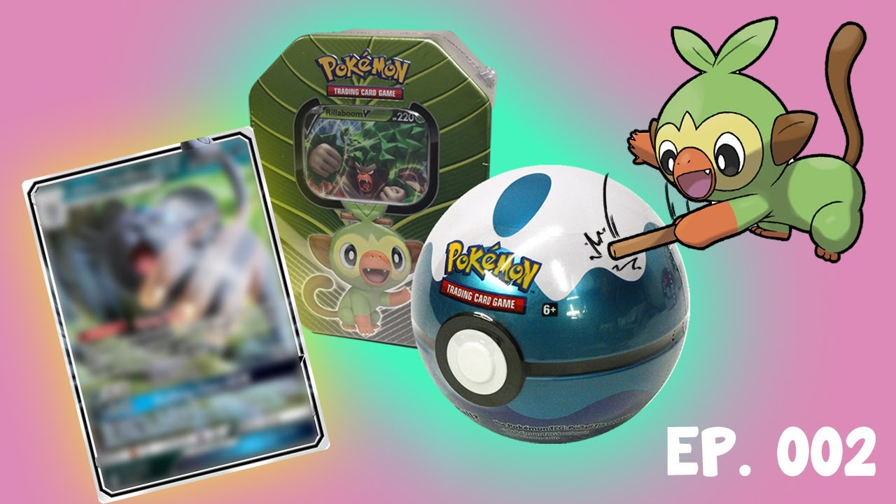 Opening Pokemon Cards Grookey And Dive Ball Tin Is It Any Good Youtube Grookey on the ball — 60 hp — g basic. youtube