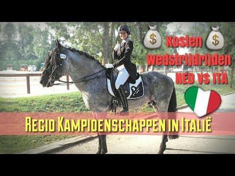 #VLOG   Regio Kampioenschappen in Italie & Stal 13...