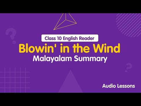 Blowin' in the Wind by Bob Dylan Summary in Malayalam Mp3