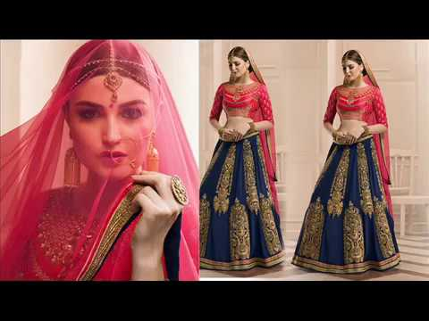 image of Bridal Lehenga Choli Saree youtube video 1