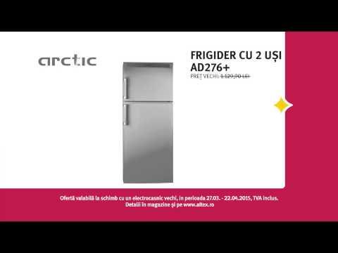 Reclamă ALTEX frigider Arctic martie 2015