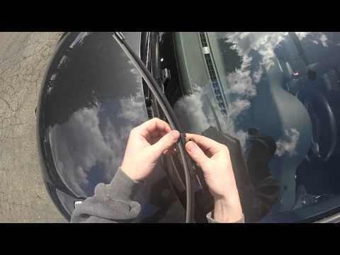 HOW TO CHANGE A WIPER MK6 VOLKSWAGON GOLF GTI 2011