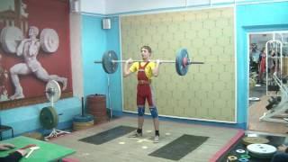 Потёмкин Алексей, 16 лет, вк 56 Толчок 70 кг