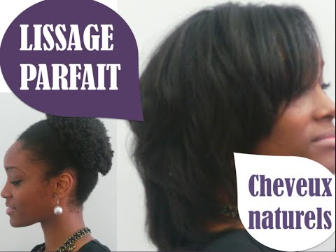 Lissage parfait cheveux cr pus marciabloem youtube for Lissage bresilien cheveux crepus salon