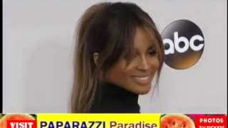 CIARA shows off her pregnant belly at American Music Awards