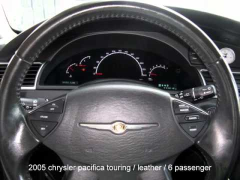2005 Chrysler Pacifica Touring - YouTube