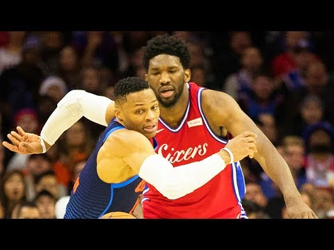 Russell Westbrook RUNS AWAY FROM FIGHT With Joel Embiid!!!