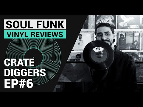 Crate Diggers Ep#6 - Soul Funk Disco | Vinyl Record Collection  | Eng Sub