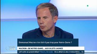 Macron : de Notre-Dame... aux Gilets jaunes - Les questions SMS #cdanslair 18.04.2019