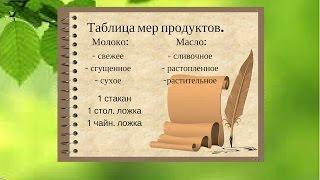 Мера Весов Продуктов./Молоко Масло