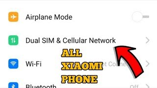 network solution for Mi A1