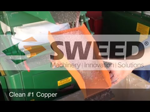 Sweed Machinery Romex #1 Wire Cable Aluminum Copper Recovery Granulation and Separation System