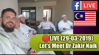 Let's Meet  Dr Zakir Naik in Malaysia Live 🔴 Dr Muhammad Salah and Shaikh Assim Al Hakeem 2019