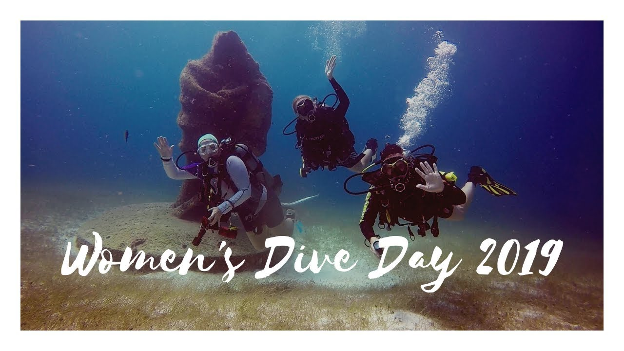 PADI Launches Inaugural Womens Dive Day - July 18th
