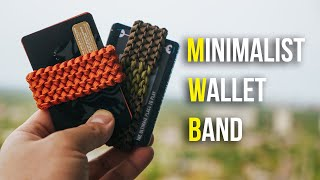 This Simple Paracord Wallet Band Will Minimize Your EDC! | TUTORIAL