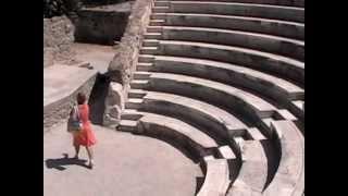 Амфитеатр в городе Кос, Греция(В столице острова также немало памятников археологии. Амфитеатр при въезде в город. Подробнее - http://spisokvdoro..., 2012-02-10T00:20:45.000Z)
