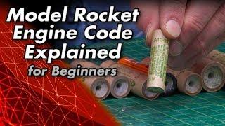 Model Rocket Engine Code Explained for Beginners