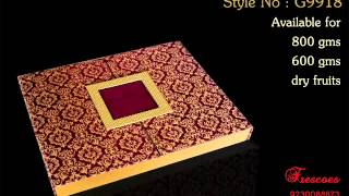 Manufacturer of Diwali Gift Boxes for chocolates, dry-fruits, Brownies at wholesale prices