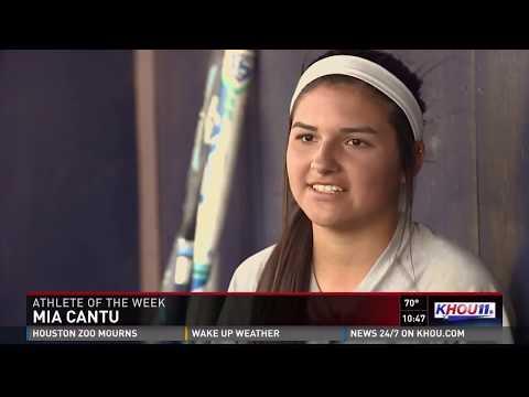 Athlete of the Week Mia Cantu of Klein Collins | Texas