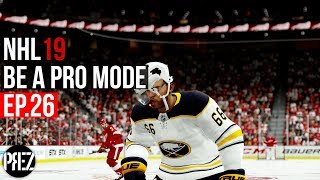 NHL 19 Be A Pro Mode - OUR LAST GAME OF THE SEASON! Ep.26 (Xbox One X)
