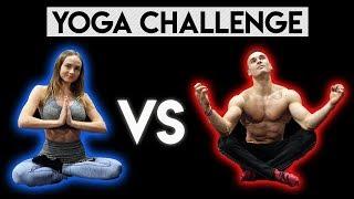 YOGA CHALLENGE 2 - Pojedynek z DZIEWCZYNĄ *beka*