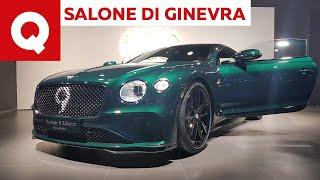 Bentley Continental GT Number 9 Edition, la storia vince sui numeri - Salone di Ginevra 2019