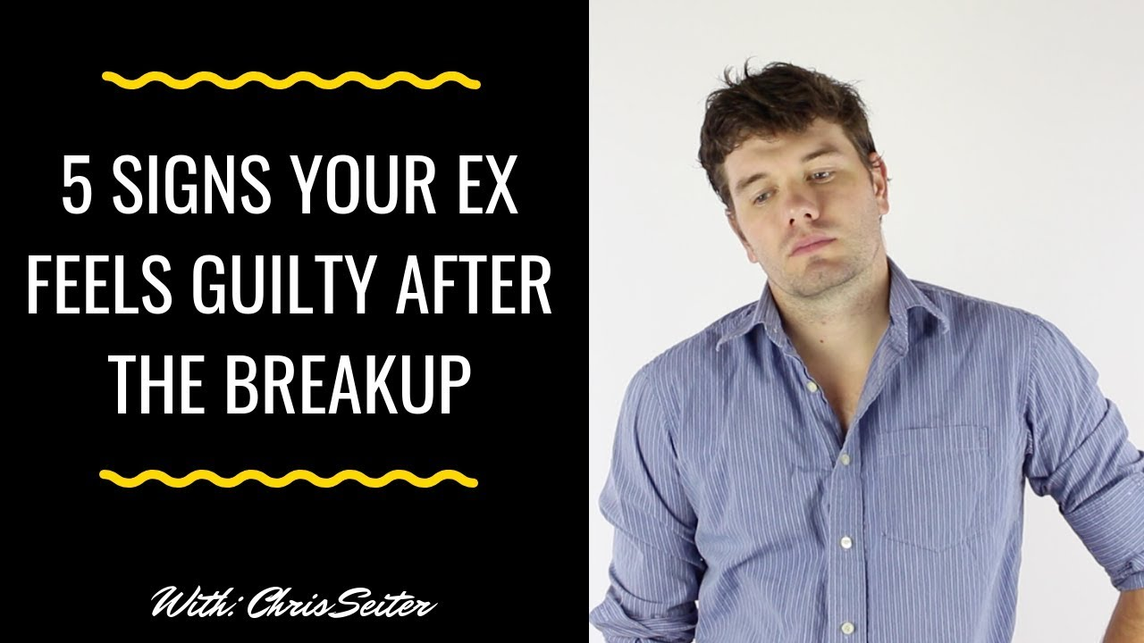 5 Accurate Signs That Your Ex Feels Guilty After The Breakup