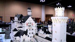 Huge LEGO Castle Neuschwanstein - Brickworld Chicago 2014(Joshua Hanlon from BrickPodcast.com talks with Bob Carney about his LEGO Neuschwanstein build. Complete guided tour of Brickworld Chicago 2014: ..., 2014-07-08T19:43:41.000Z)