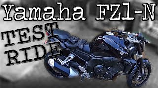 Yamaha FZ1-N Test Ride