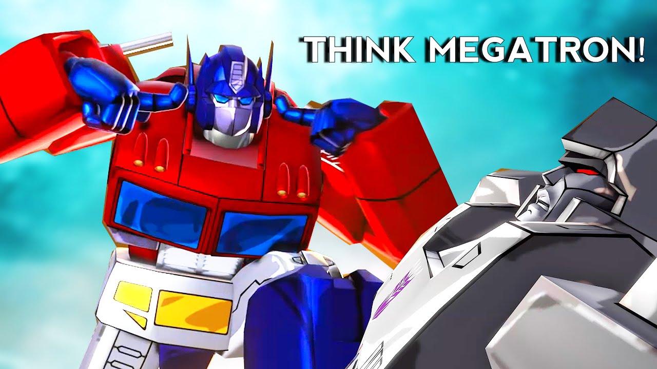 THINK MEGATRON THINK!! [Invincible Meme]