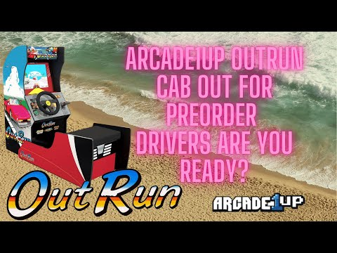 Arcade1up Out Run Preorder Live. Drivers are you Ready? from Ur Average Gamer