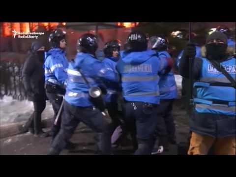 Massive Anticorruption Protests In Romania