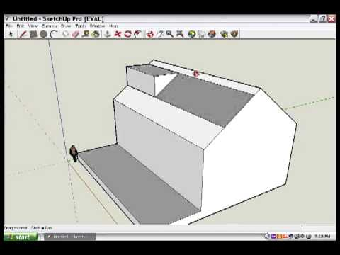 Google Sketchup Lesson 2 The dormer