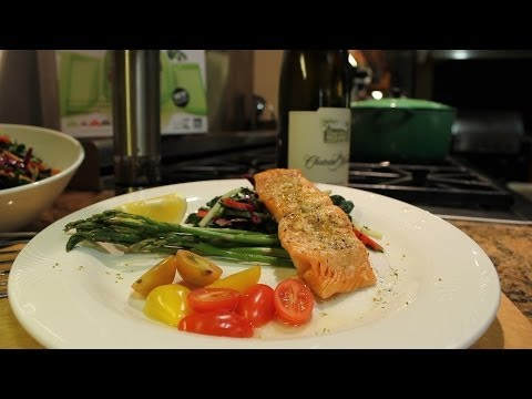 Chef Katherine shares her healthy tips on making Salmon