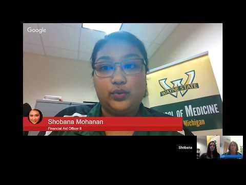 School of Medicine Google Hangout - Scholarships - Wayne State University