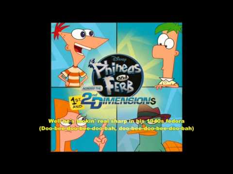 Phineas and Ferb-Perry the Platypus Extended Lyrics(HD)