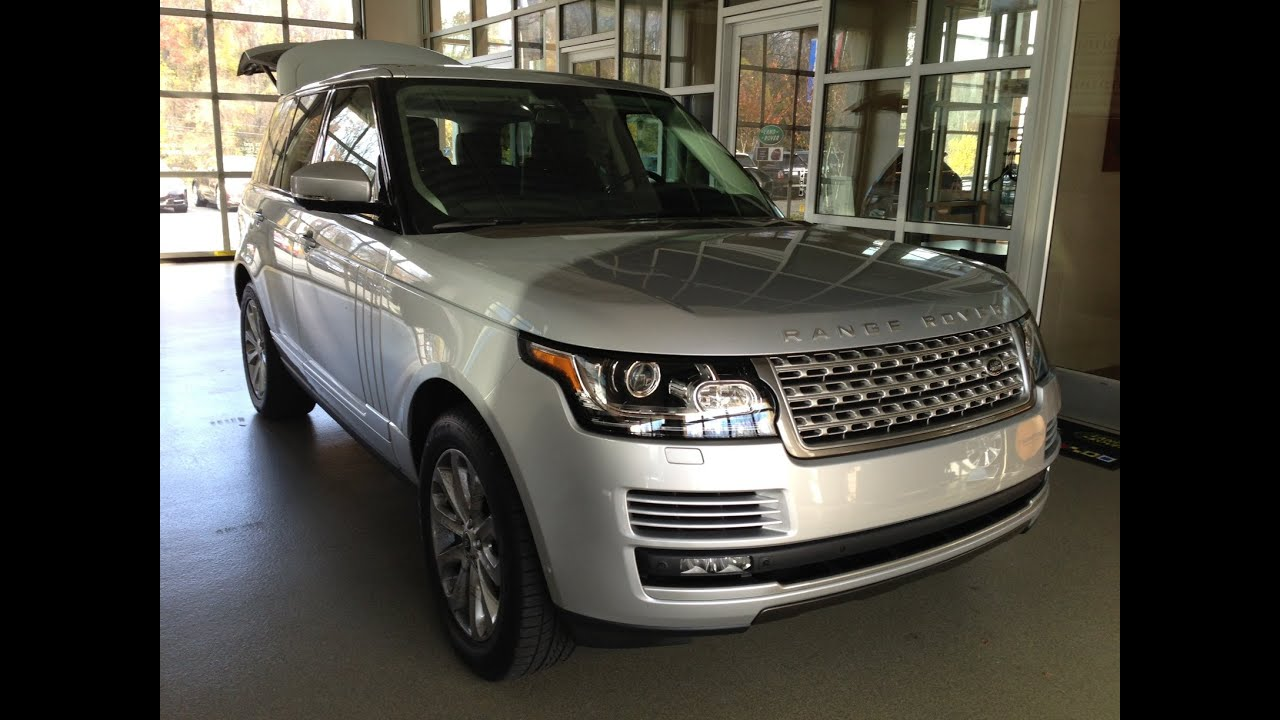 2013 Range Rover Full Size V8 5 0L HSE Overview Re designed Land