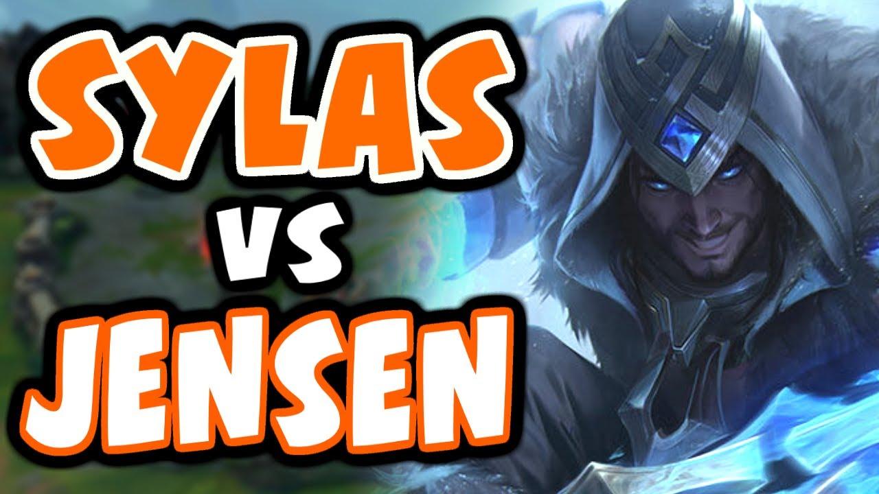 I got matched against Jensen and CoreJJ | Challenger Sylas - League of Legends thumbnail
