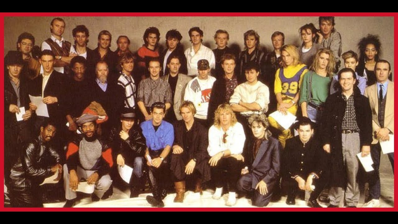 Do They Know Its Christmas Time.Top Of The Pops Band Aid Do They Know It S Christmas Time 1984 Different Cut