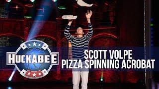Don't Miss Champion PIZZA Spinning Acrobat Scott Volpe | Huckabee