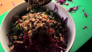 Beetroot, Carrot And Red Cabbage Coleslaw