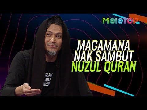 Ustaz Akhil Hayy terangkan cara nak sambut Nuzul Quran  MeleTOP  Nabil & Neelofa