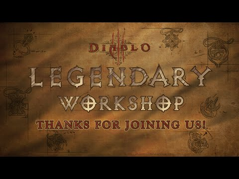 Legendary Workshop Livestream